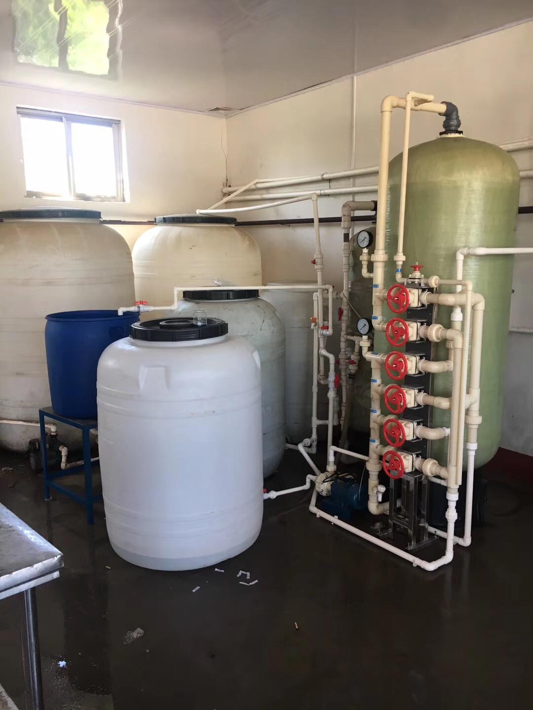 8吨/时软化水设备