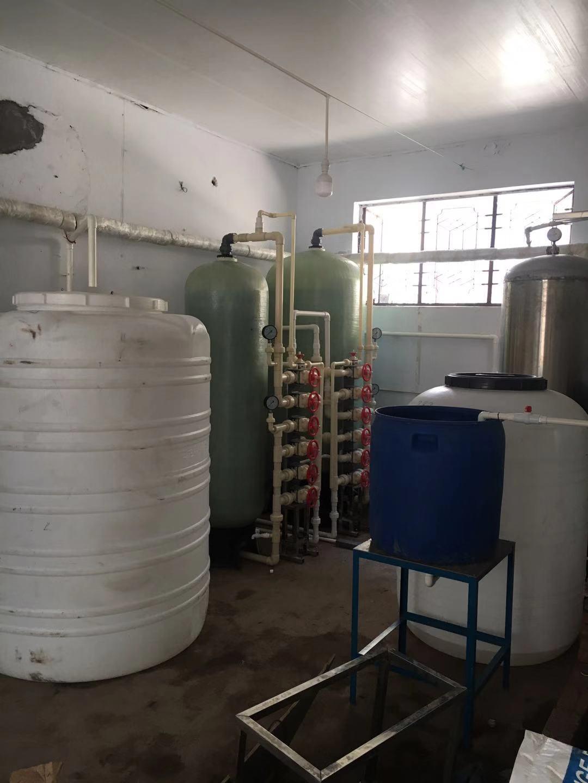 8吨/时双级软化水设备