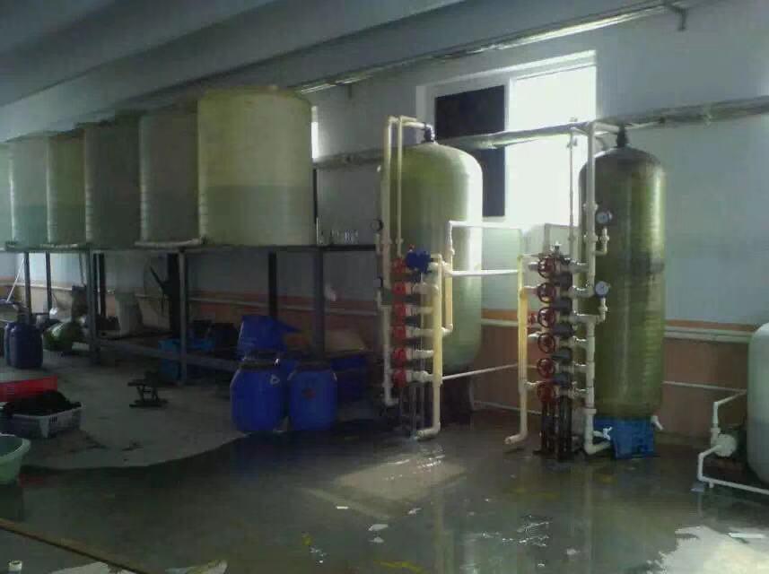 部分双级软化+部分一用一备软化水设备