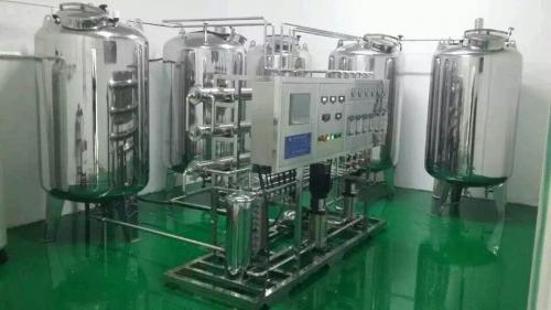 0.5吨/时双级反渗透+EDI高纯水设备