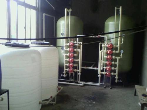 10噸/時軟化水設備,一用一備