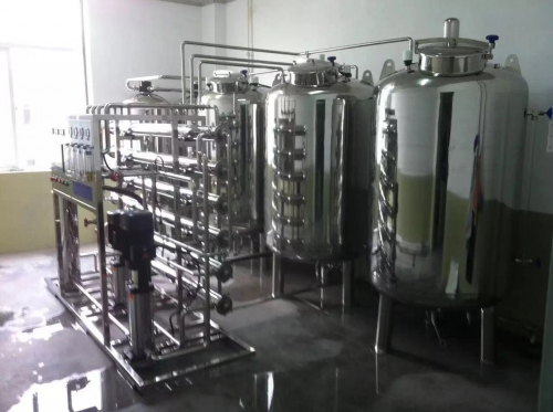 1吨/时双级反渗透高纯水设备