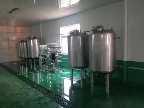 2吨/时不锈钢纯水设备