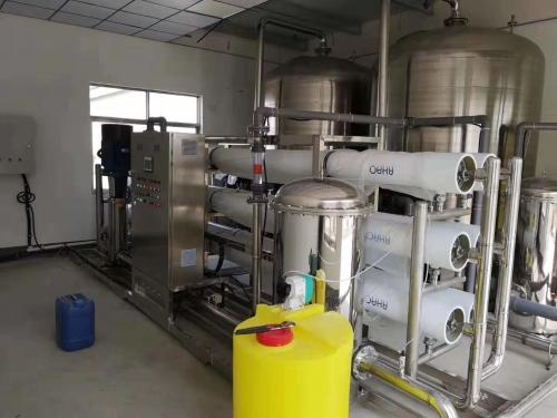 18吨/时食品加工用水设备