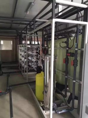 16吨/时单级反渗透纯水设备