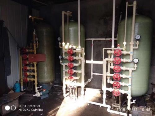 8噸/時手動再生軟化水設備