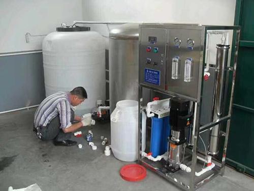 0.5噸/時反滲透小型直飲水設備