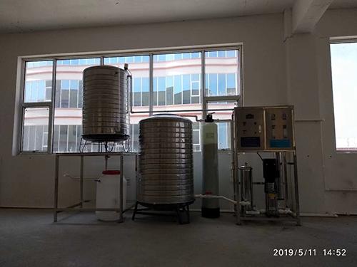 0.25噸/時工廠自備飲用水設備