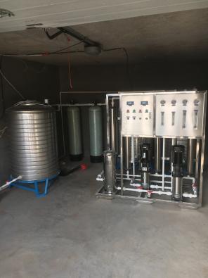 0.5吨/时双级反渗透纯净水设备