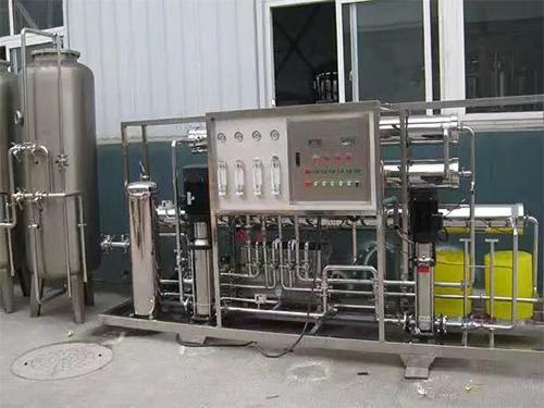 3吨/时双级反渗透纯净水设备
