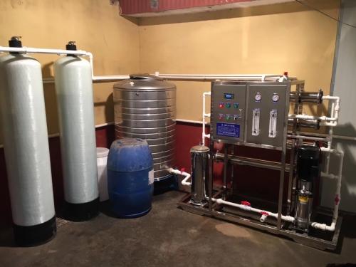 饮用纯净水设备+持卡取水