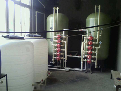 10吨/时手动再生软化水设备