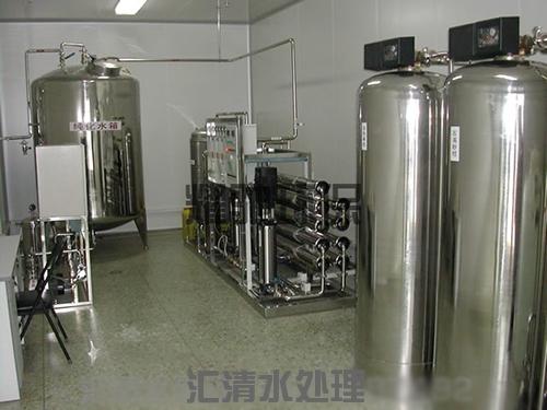 全不鏽鋼4噸/時雙級純淨水設備