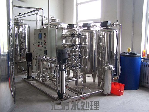 全不鏽鋼2噸/時雙級純淨水設備