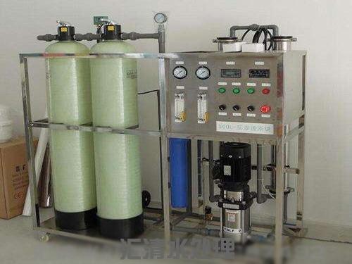 0.5吨/时单级纯净水设备