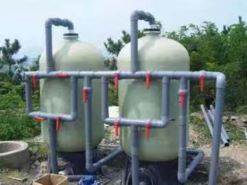石英砂过滤设备(玻璃钢)