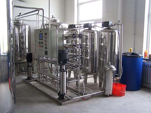 全不锈钢2吨/时双级纯净水设备