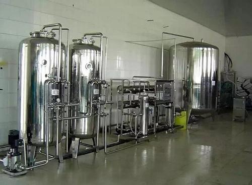 4吨/时全不锈钢纯净水设备