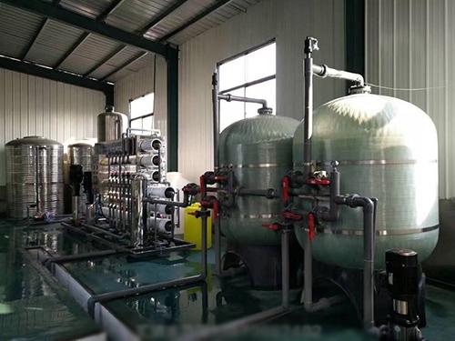 6吨/时双级反渗透纯水设备